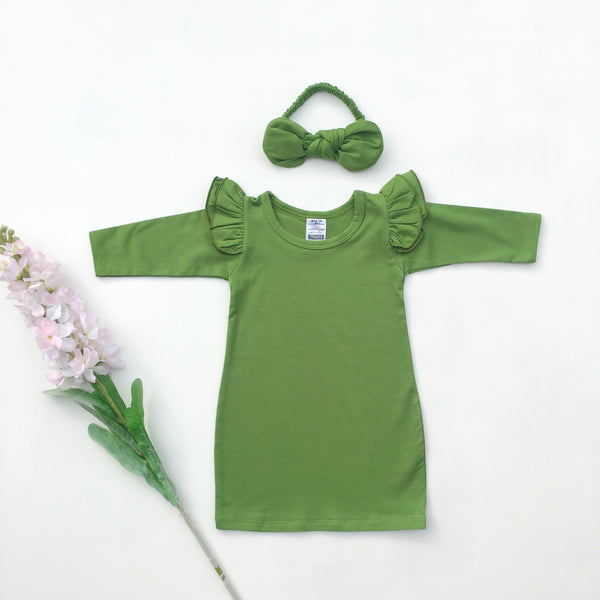 Picker green Jumper dress