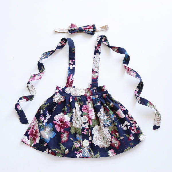 Ashleigh  Suspender Skirt - Toots Kids