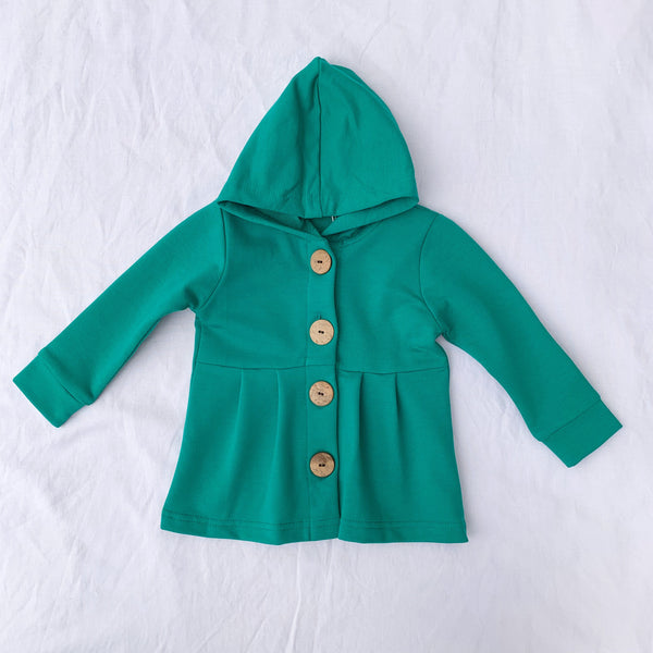 Greenlake Button Hoodie - Toots Kids