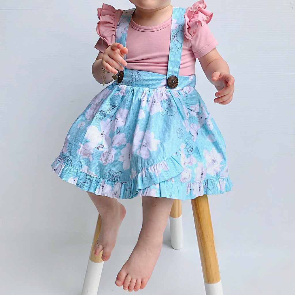 Ellie Tulip Suspender Skirt - Toots Kids