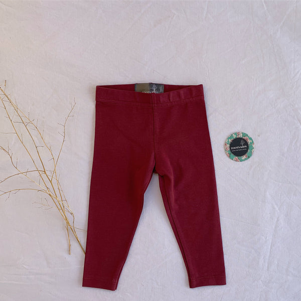 Merlot Wine Legging - Toots Kids