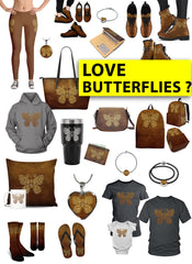 Mini Merch - Awesome Butterfly