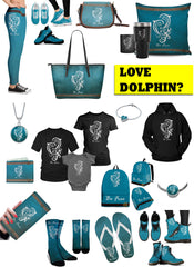 Mini Merch - Awesome Dolphin