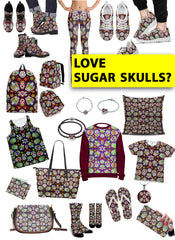 Mini Merch - Awesome Sugar Skulls
