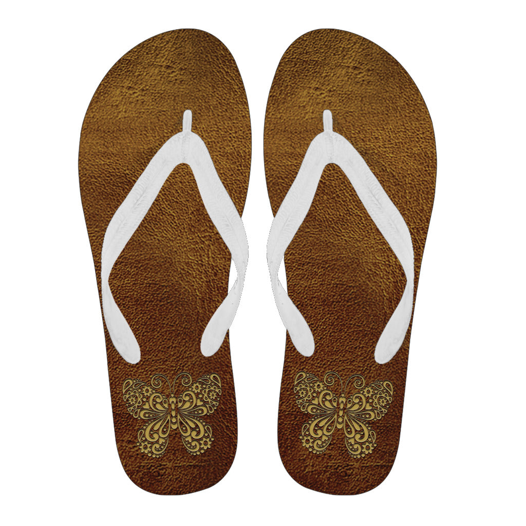 Awesome Butterfly - Women's and Men's Flip Flops