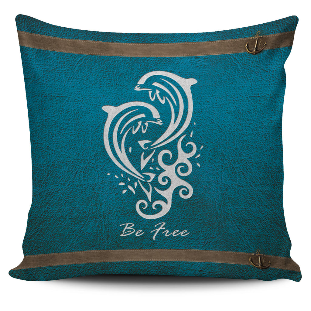 Awesome Dolphin - Pillow Covers