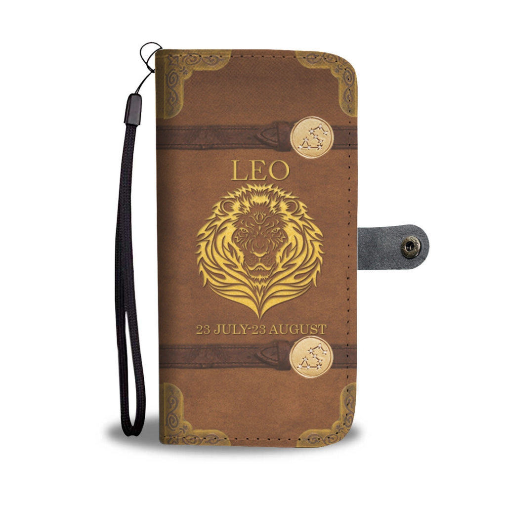 Awesome Leo Wallet Case