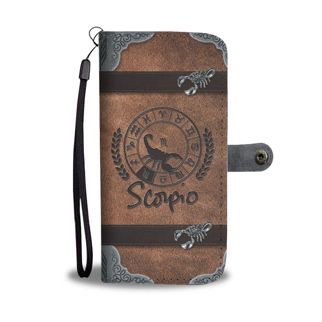 Awesome Scorpio Wallet Case