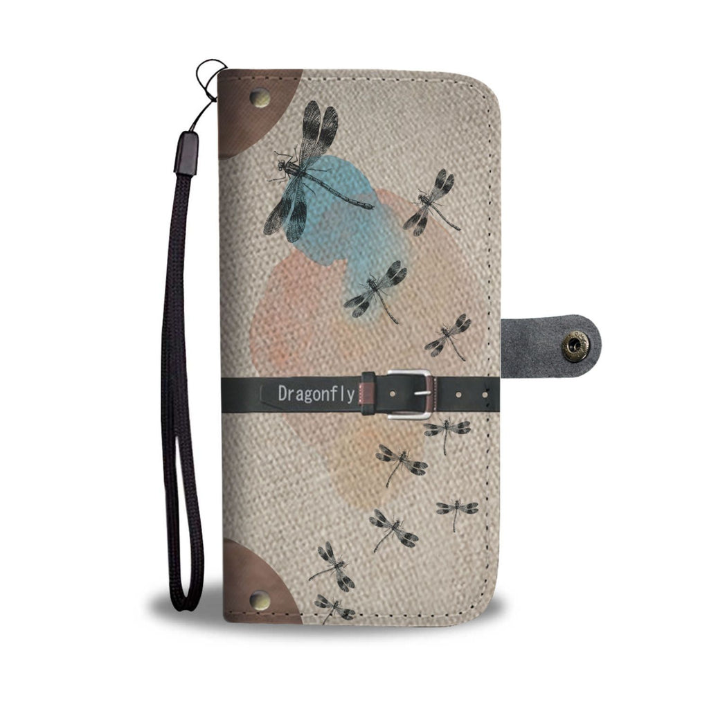 Awesome Dragonflys Wallet Case   (Today ONLY Discount)