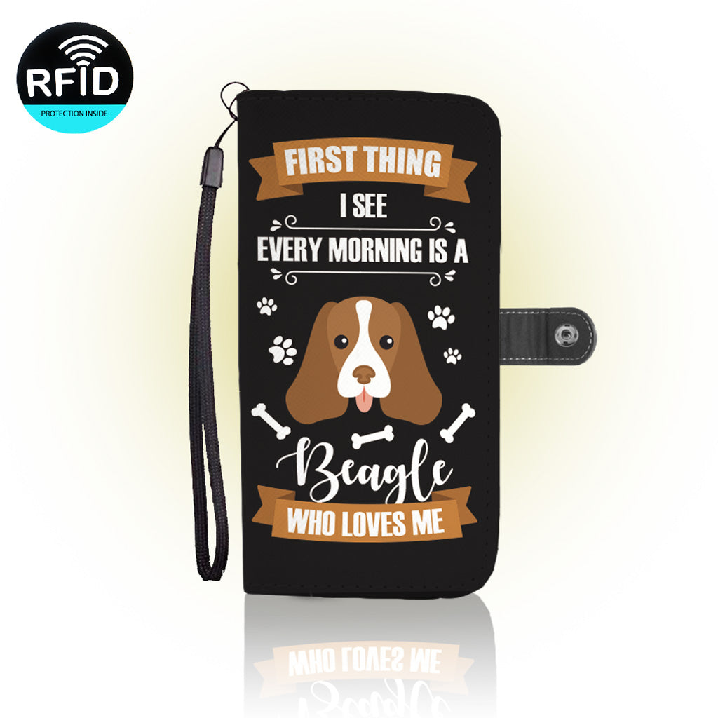 Awesome Beagle dogs Wallet Case (Today Only Discount)