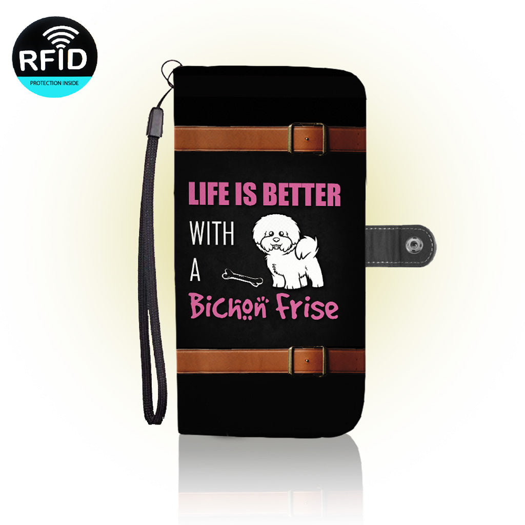 Awesome Bichon Wallet Case (Today ONLY Discount)