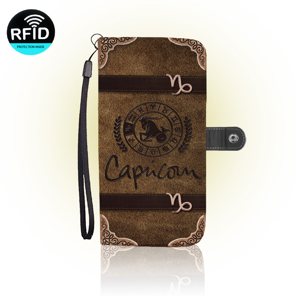 Awesome Capricorn Wallet Case   (Today ONLY Discount)