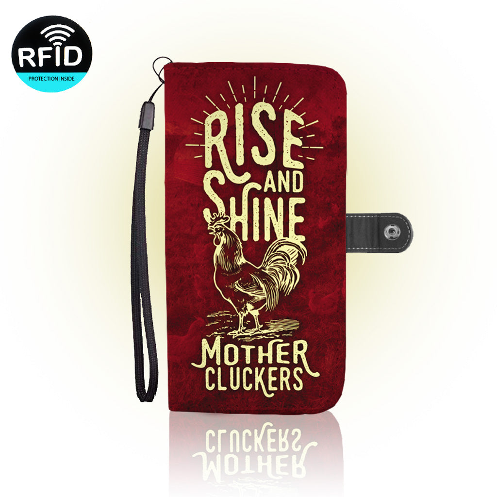 Awesome Mother Clucker Wallet Case  (Today ONLY Discount)