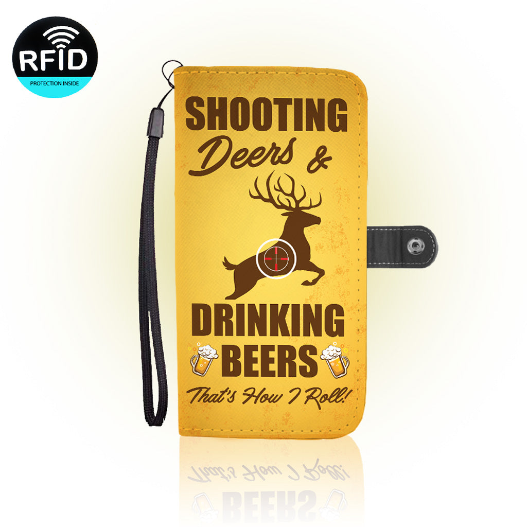 Awesome Deer Hunting Wallet Case