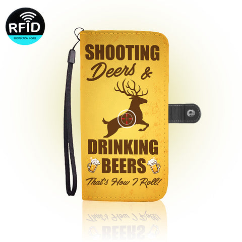 Awesome Deer Hunting Wallet Case (Today Only Discount)
