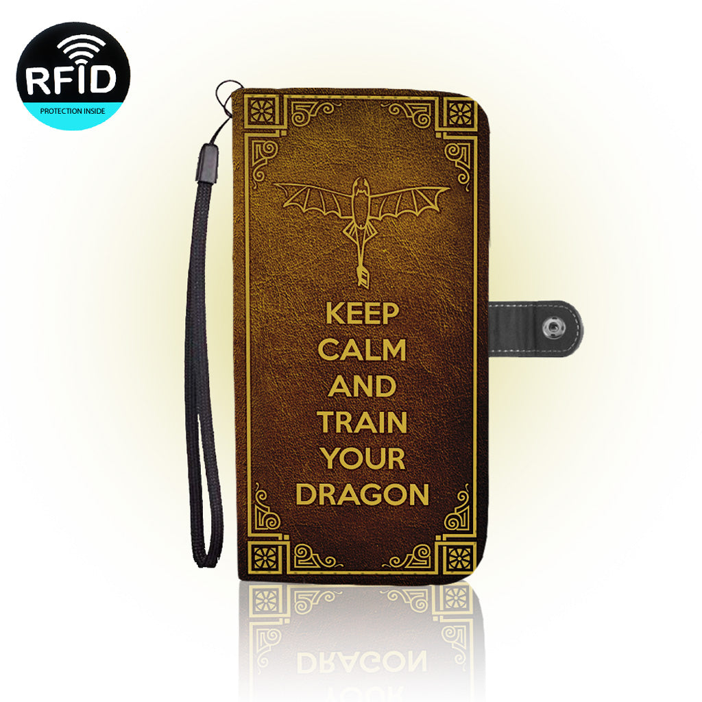 Awesome Dragon Wallet Case (Today Only Discount)
