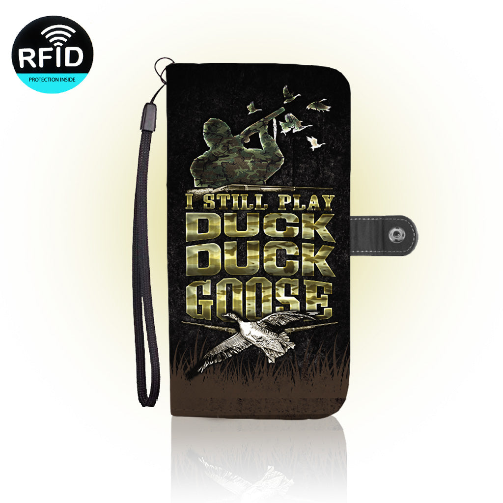 Awesome Duck hunting Wallet Case