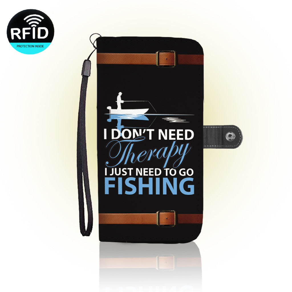 Awesome Fishing Lovers Wallet Case