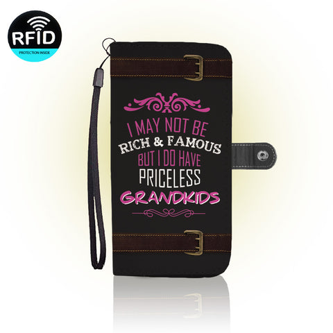 Awesome Grandkids Wallet Case