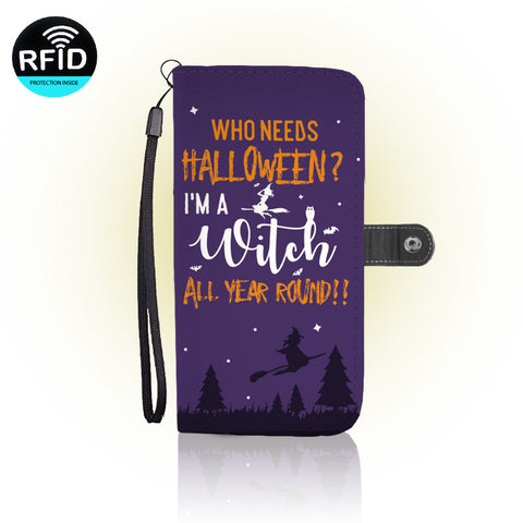 Awesome Halloween Wallet Case