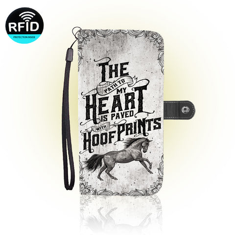 Awesome Horses Wallet Case