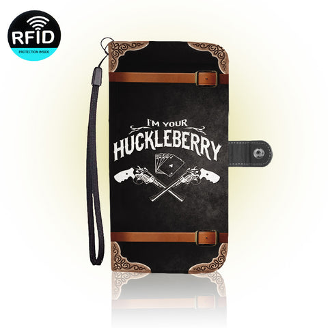 Awesome Huckleberry Wallet Case (Today ONLY Discount)
