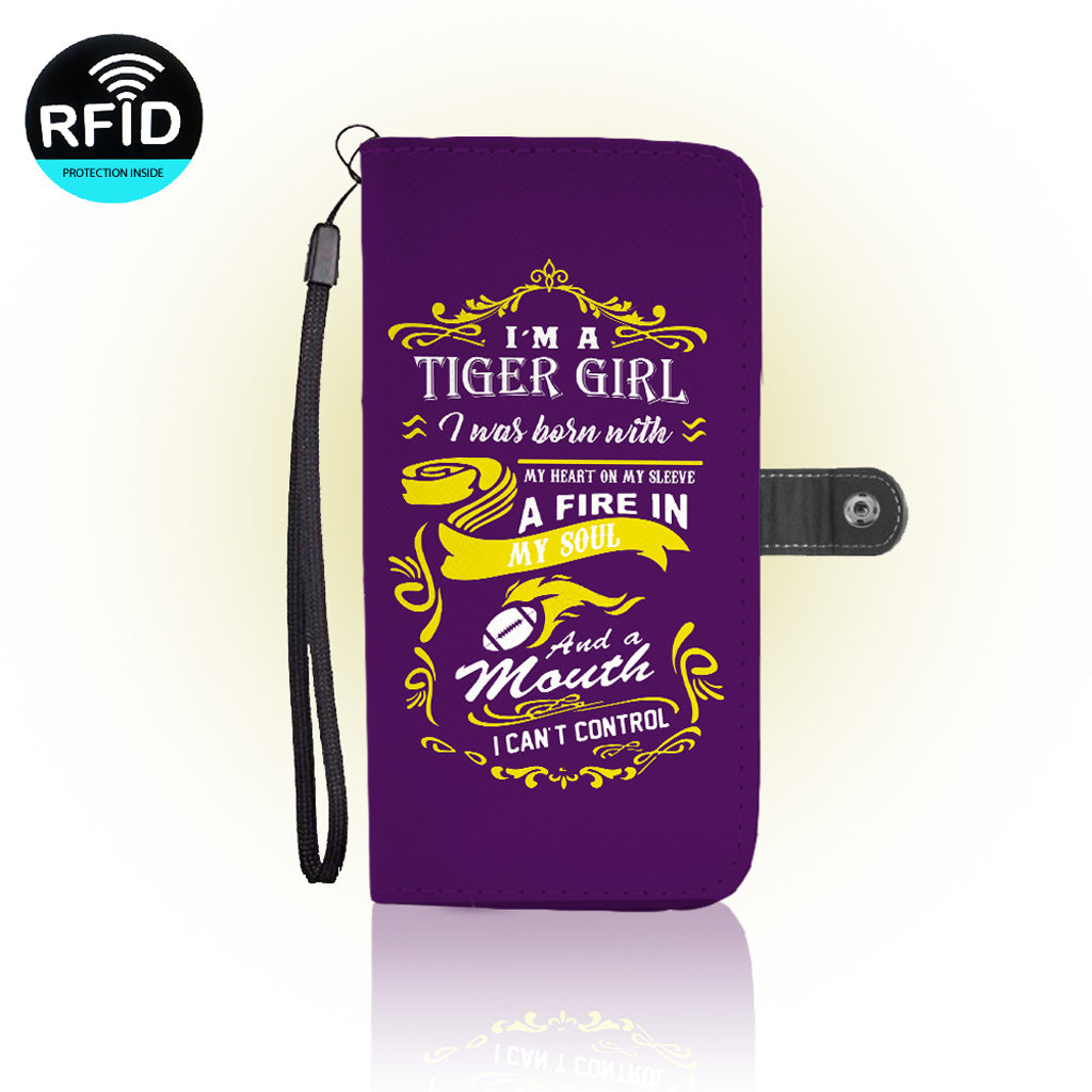 Awesome LSU Football Wallet Case (Today ONLY Discount)