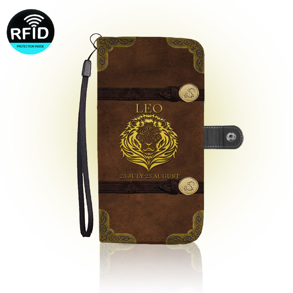 Awesome Leo Wallet Case   (Today ONLY Discount)