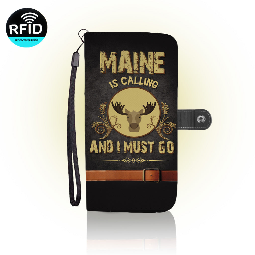 Awesome Lives in Maine Wallet Case (Today ONLY Discount)