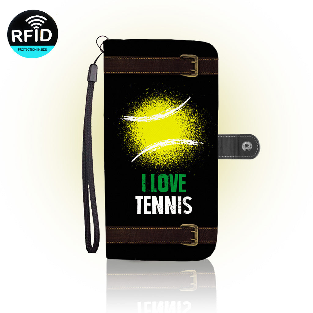Awesome Love Tennis Wallet Case (Today ONLY Discount)