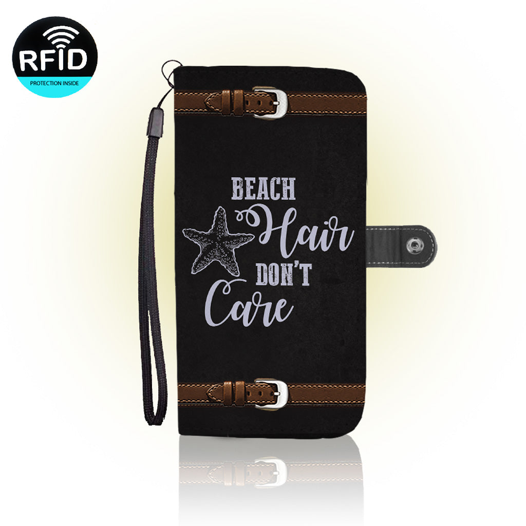 Awesome Love the Beach Wallet Case