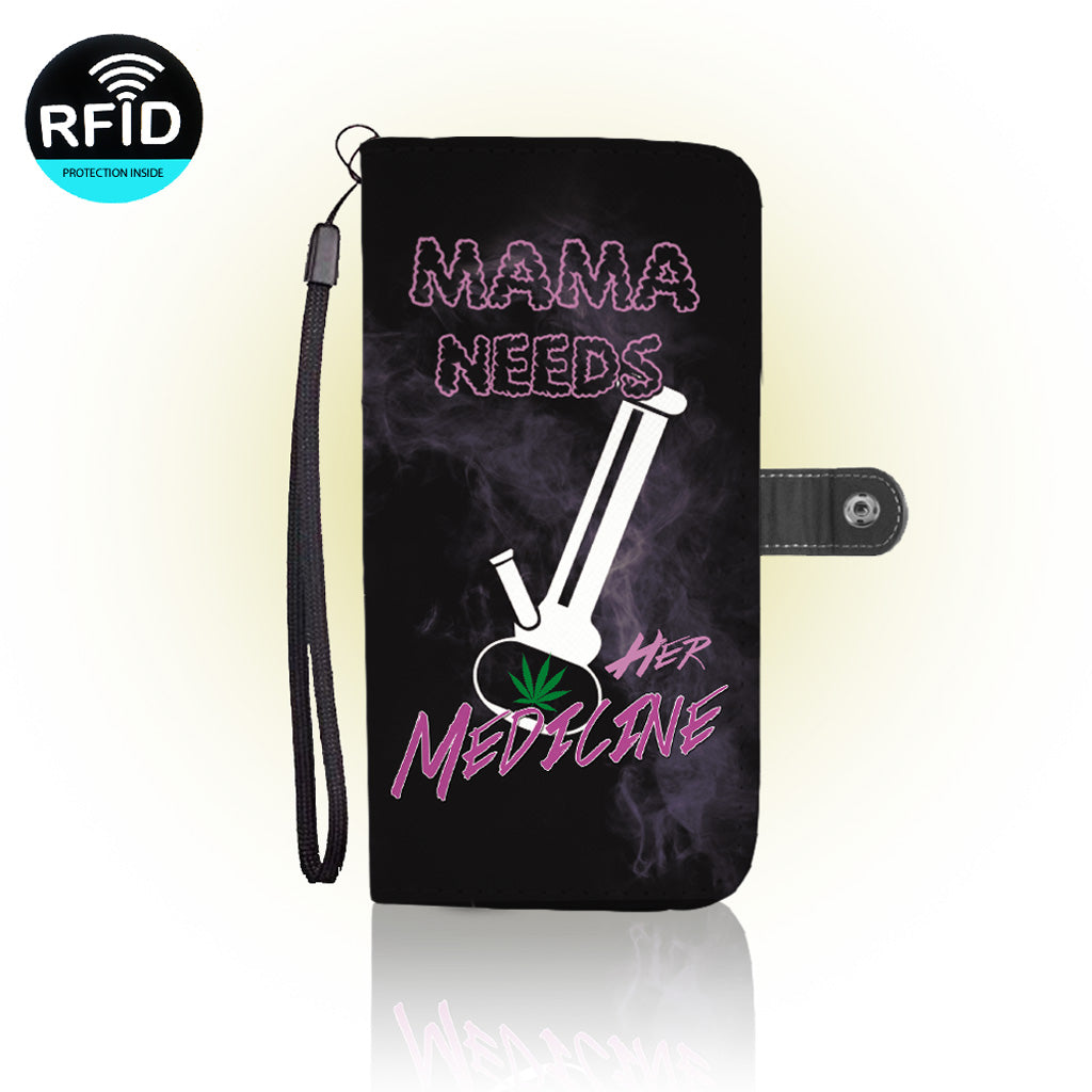 Awesome Mamma Medicine Wallet Case