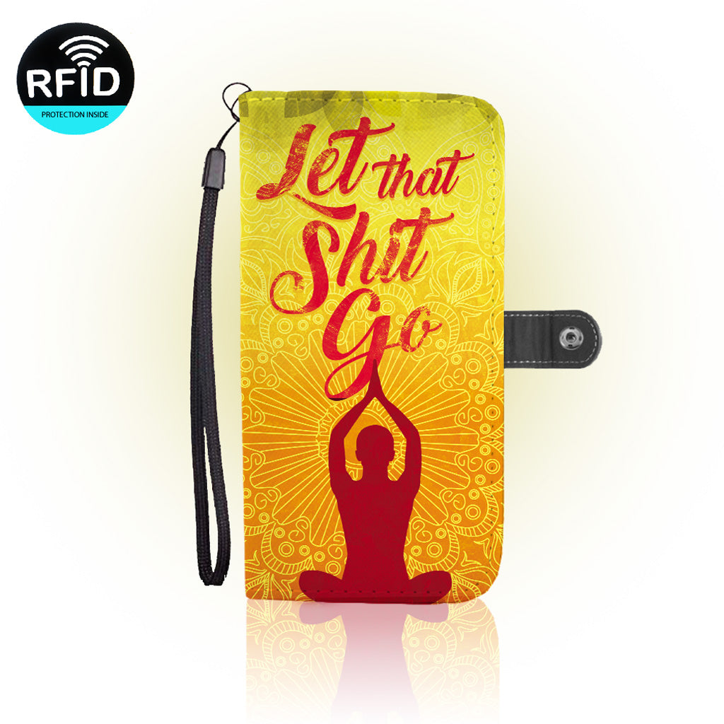 Awesome Meditation Wallet Case  (Today ONLY Discount)