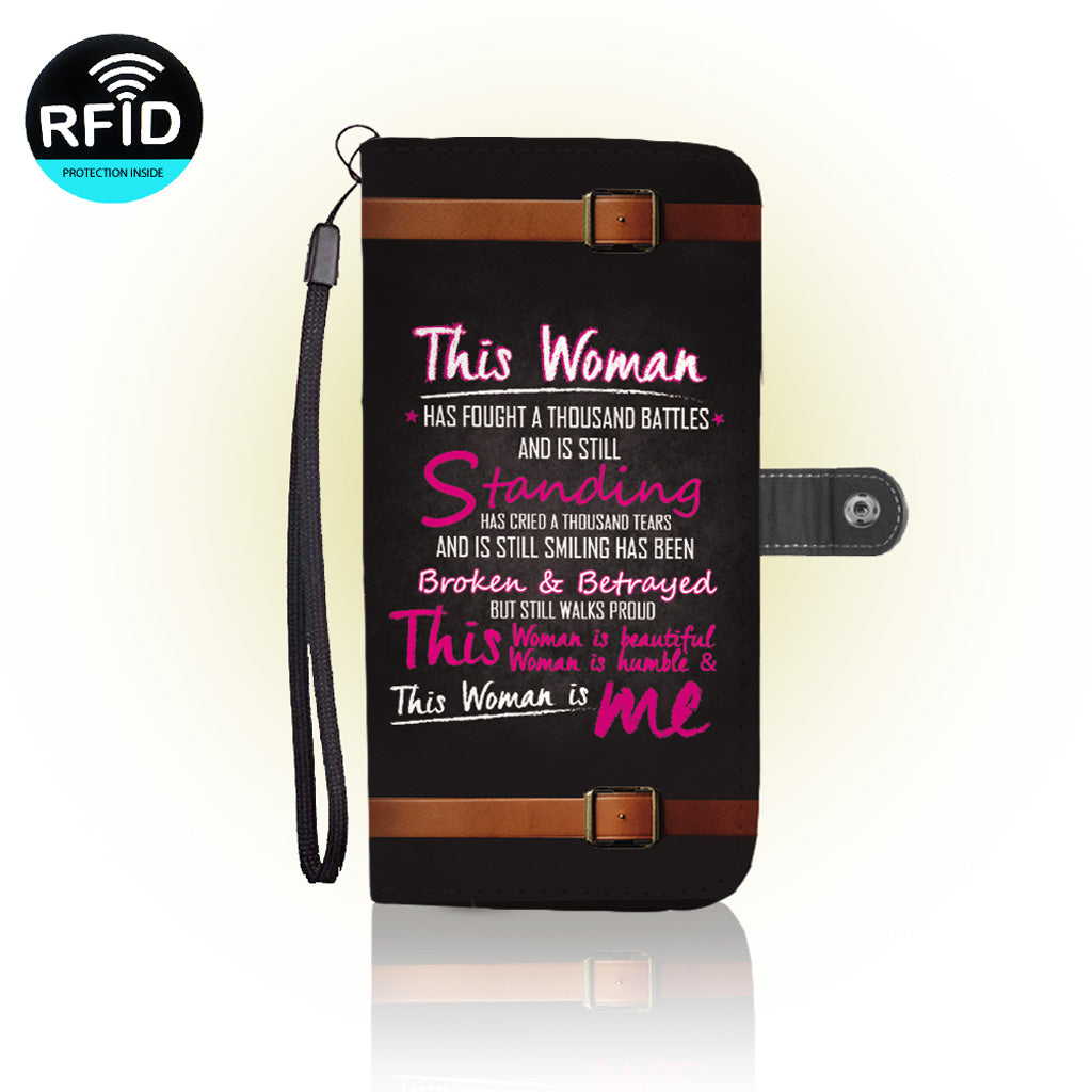 Awesome Motivational women Wallet Case