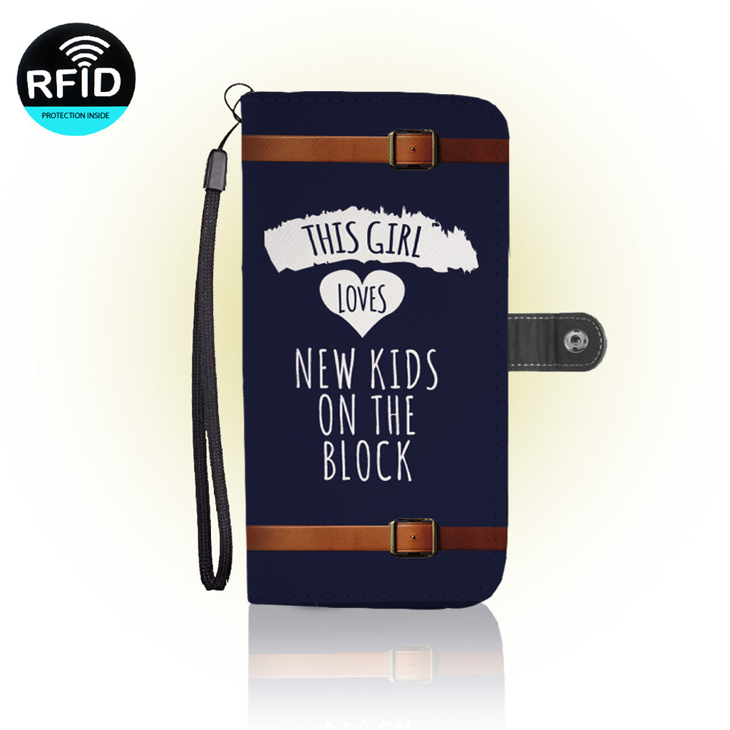 Awesome New kids on the block Wallet Case