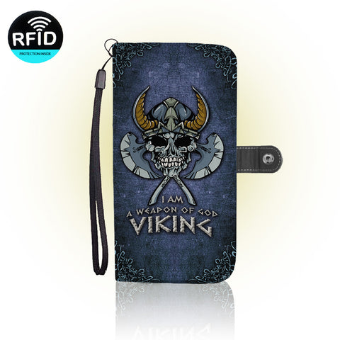 Awesome Norse Mythology Wallet Case