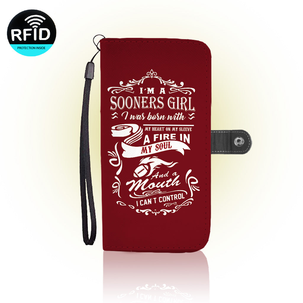 Awesome Oklahoma Sooners Wallet Case (Today ONLY Discount)