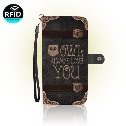 Awesome Owl Wallet Case