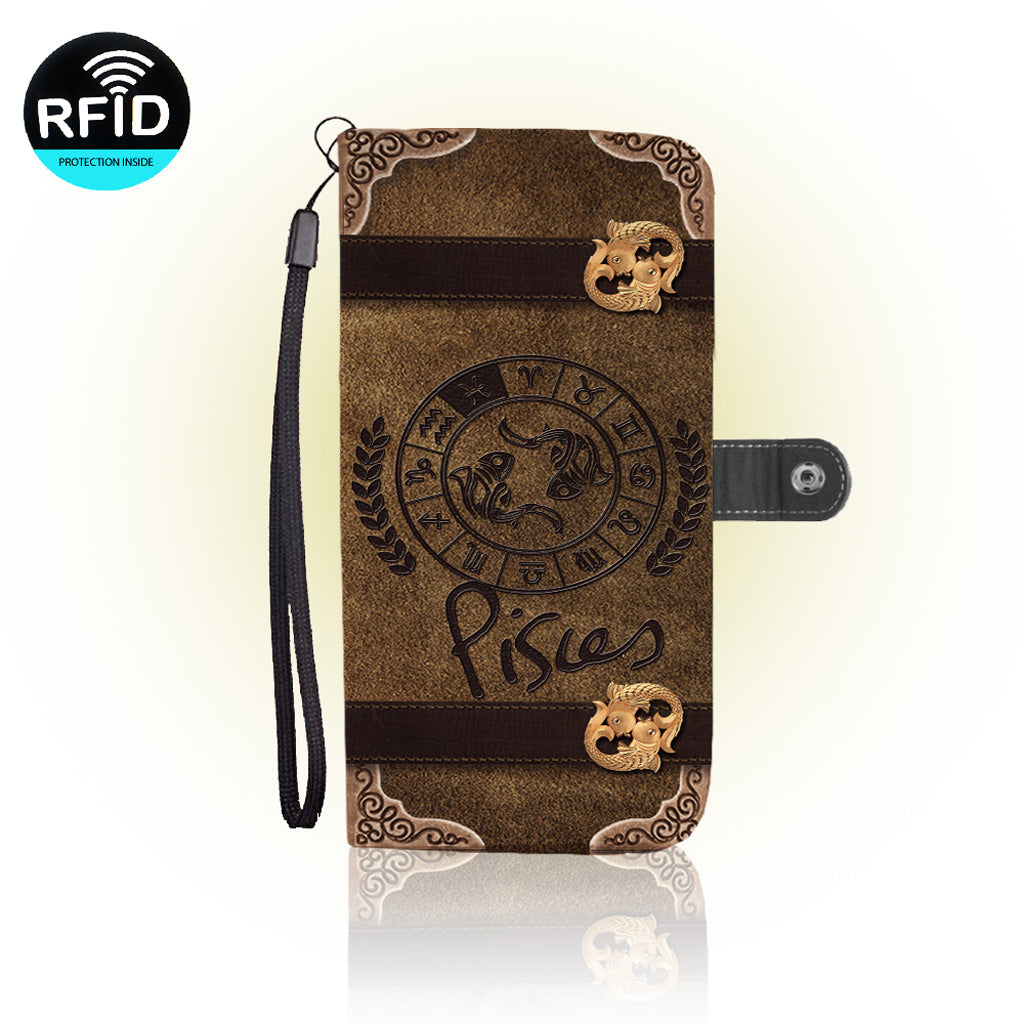 Awesome Pisces Wallet Case