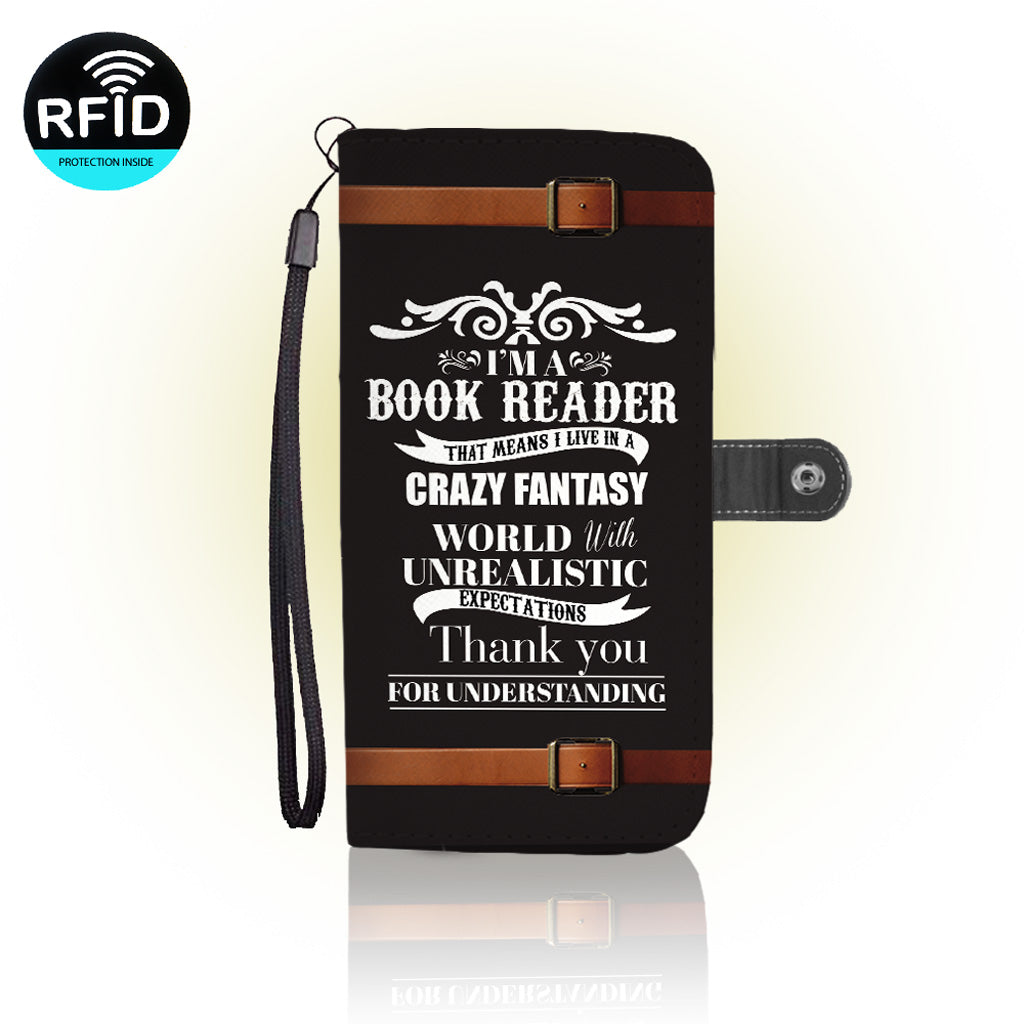Awesome Reading lovers Wallet Case