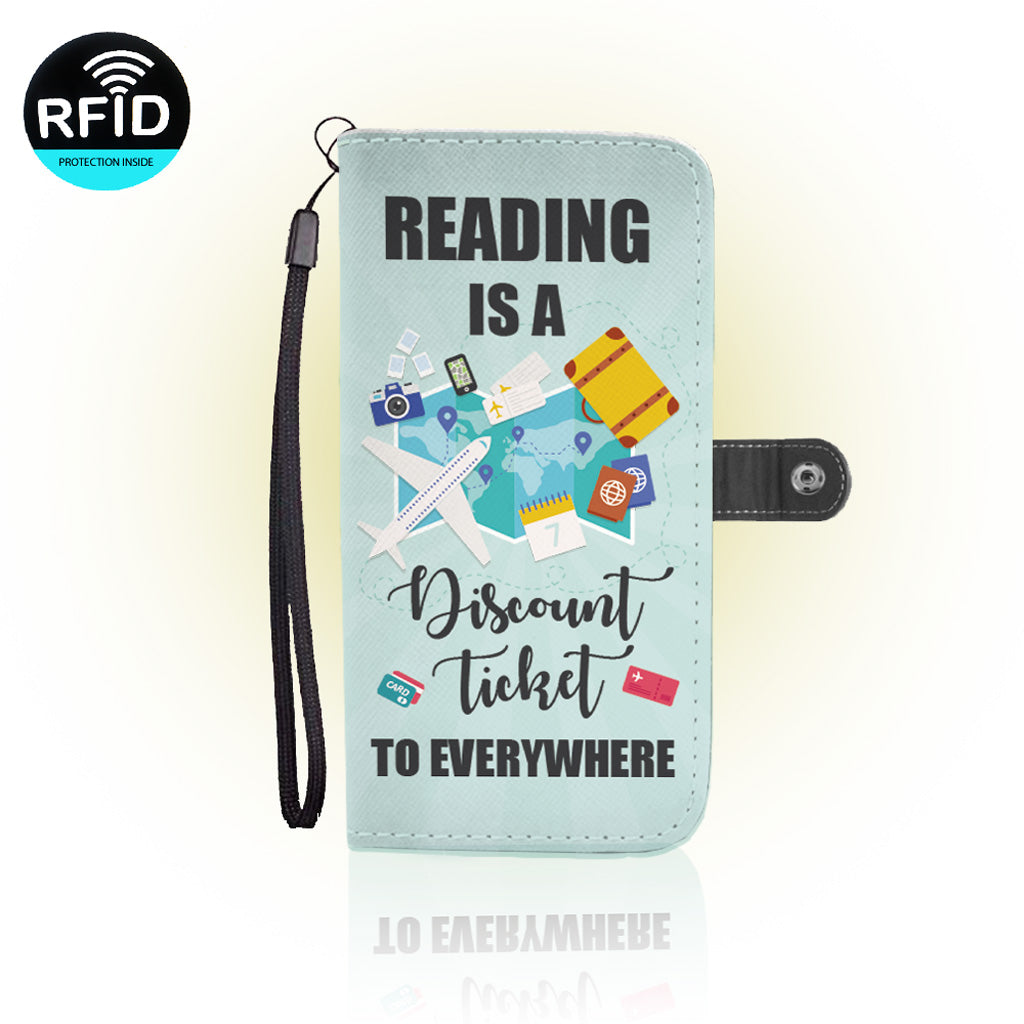Awesome Love Reading Wallet Case