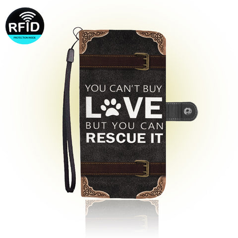 Awesome Dog Rescue Wallet Case (Today ONLY Discount)