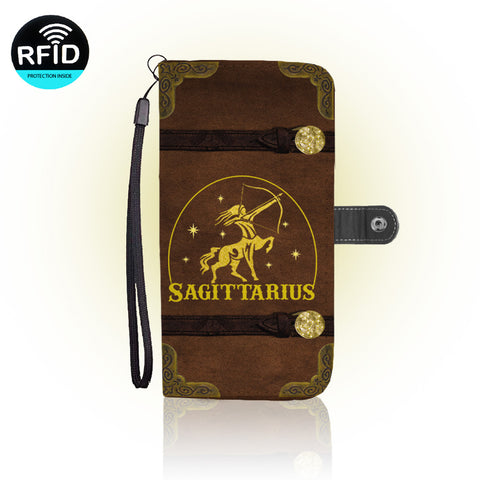 Awesome Sagittarius Wallet Case