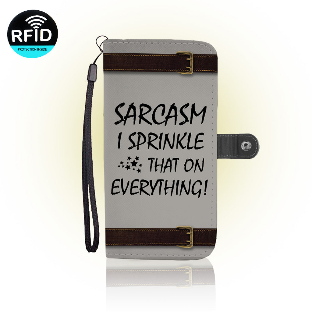 Awesome Sarcasm Wallet Case