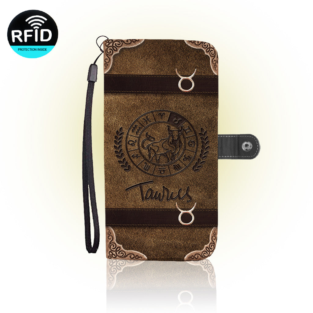 Awesome Taurus Wallet Case