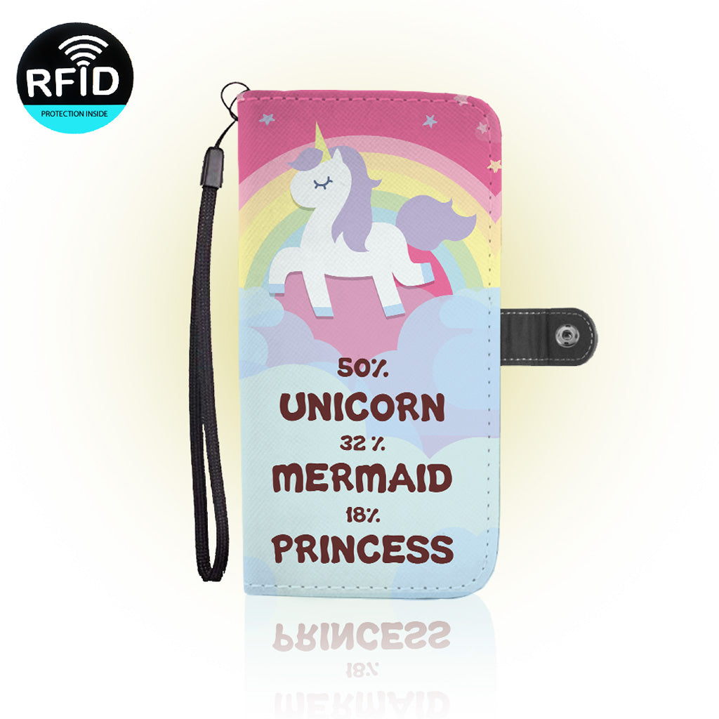 Awesome Unicorns Wallet Case  (Today ONLY Discount)