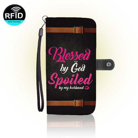 Awesome Women Christians Wallet Case