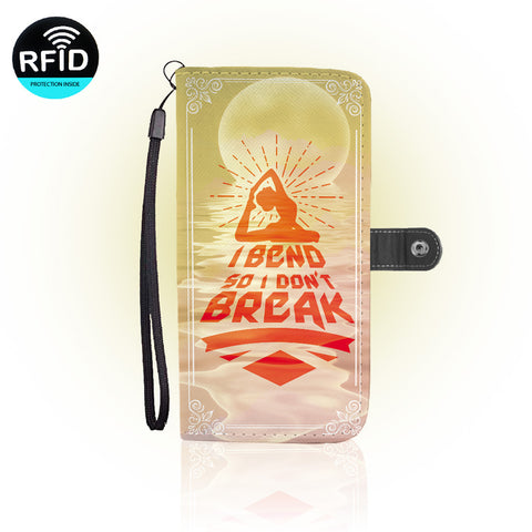 Awesome Yoga  Wallet Case