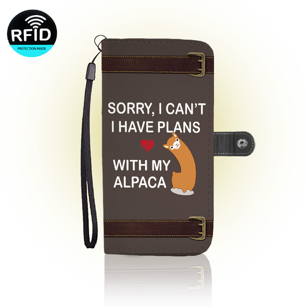 Awesome alpaca Wallet Case