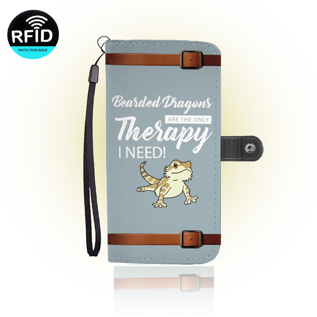 Awesome bearded dragons Wallet Case